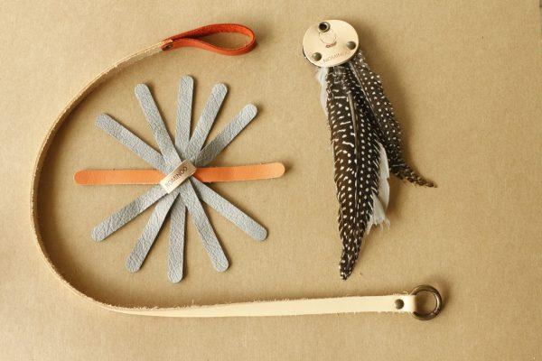 Kit de joojoo avec une canapêche, un plumfoo et un tipoolpe